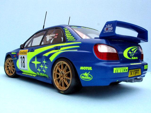 Subaru Impreza Wrc By Jonathan Squires Tamiya 124