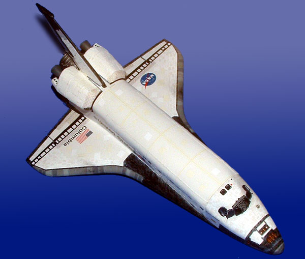 Columbia Space Shuttle Model - Pics about space
